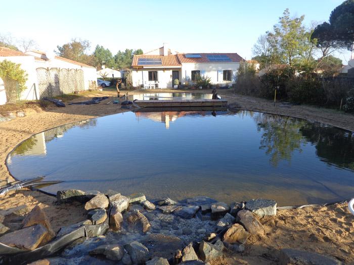 Creation Bassin La Roche Sur Yon Vendee Produits Entretien Bassin